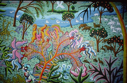 Outdoor mural Garden of Eden img. 5